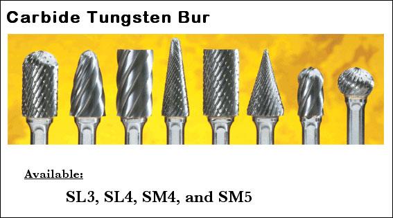Carbide Tungsten Burs Image