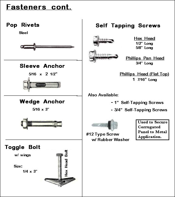 Fasteners 2 Image