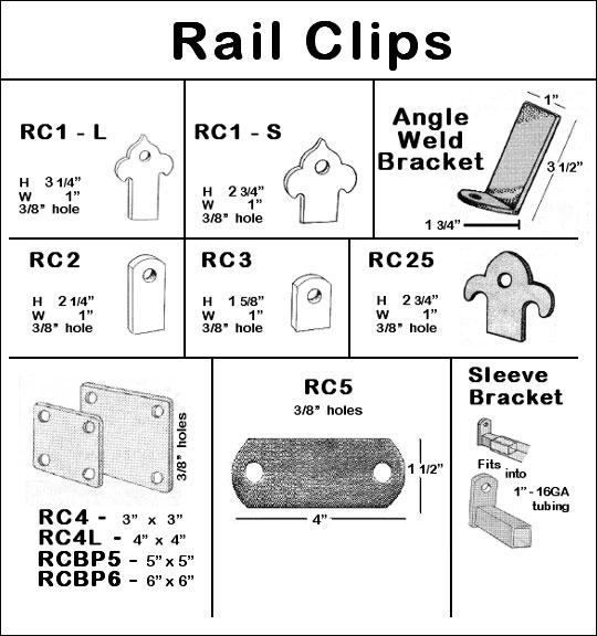 Rail Clips Image