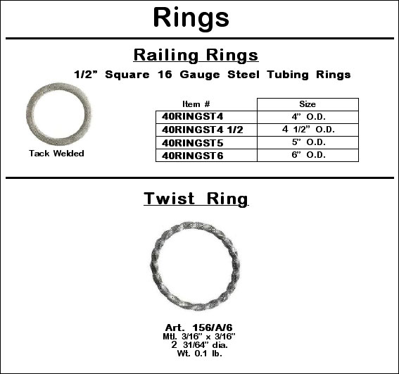 Tubing and Twist Rings Image