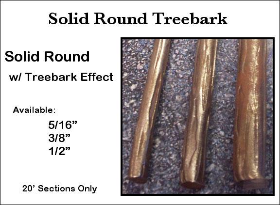 Treebark Solid Round Image