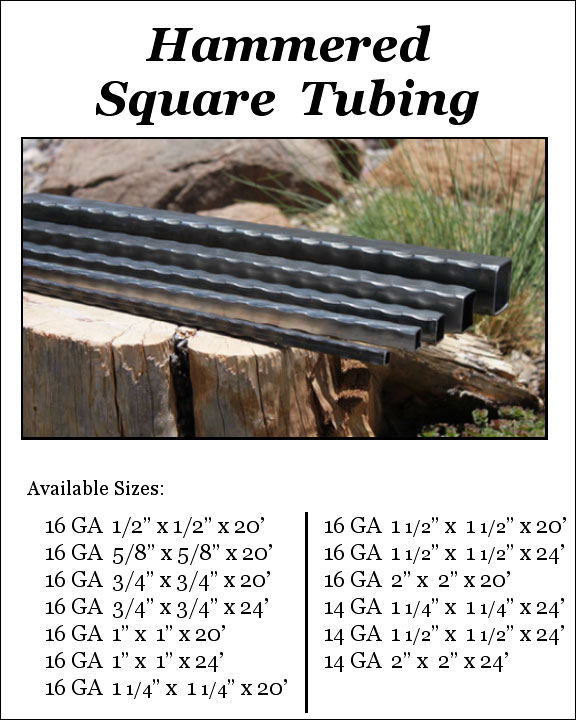 Hammered Tubing - Square Image