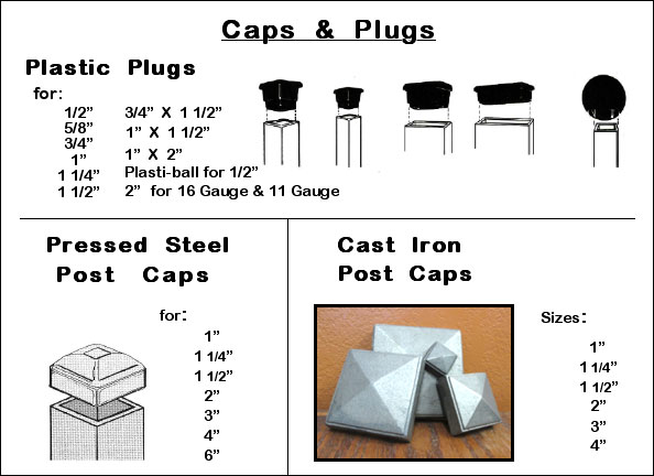 Spears, Caps & Plugs Image